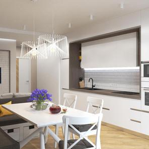 Кухня-студия