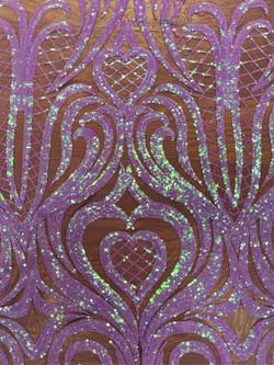 Sequin Purple