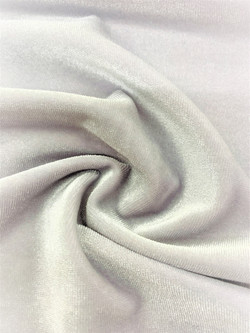 Stretch Velvet White