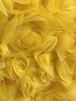Chiffon Roses Yellow