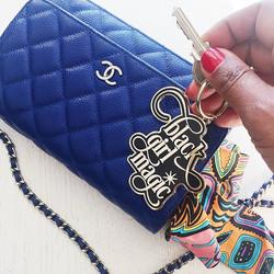 Black Girl Magic Keychain1