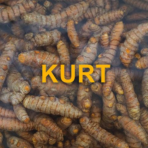 Kurt ist Kurkumasaft