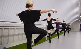 Ballet based barre classes for adults in Manchester and Salford; access online fitness workouts through live stream or on-demand. Worldwide access online ballet barre class.