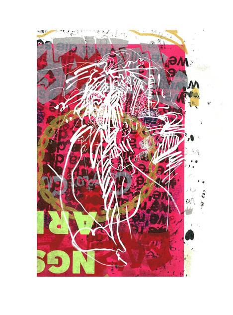 Silkscreen + Digital print