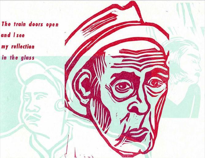 Linocut + letterpress