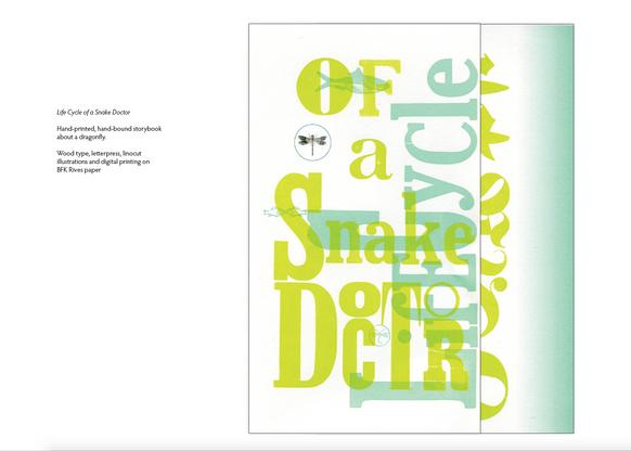 Woodtype + letterpress