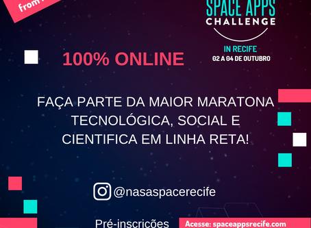 NASA Space Apps Challenge Edição 2020 acontece em outubro