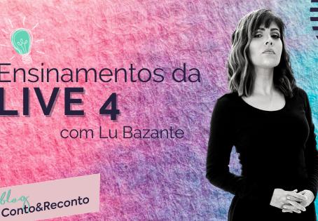 """LIVE 4 """"Mulher Empreendedora - Como organizar o seu dia e ter mais produtividade"""""""