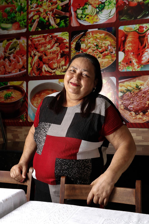 Ela não desistiu e segue encantando a todos com as delícias do seu negócio. Crédito: Diêgo Albuquerque Fotografia