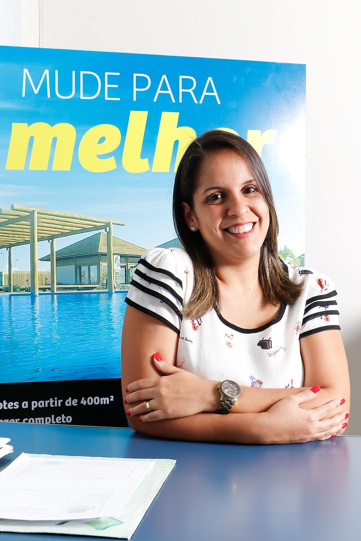 Corretora e agente de viagem, Camilla acredita que com foco e determinação a mulher consegue conquistar o seu lugar na sociedade. Crédito: Diêgo Albuquerque Fotografia