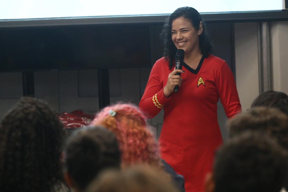 Dani Bezerra, uma das líderes local / Imagem Arquivo NASA in Recife