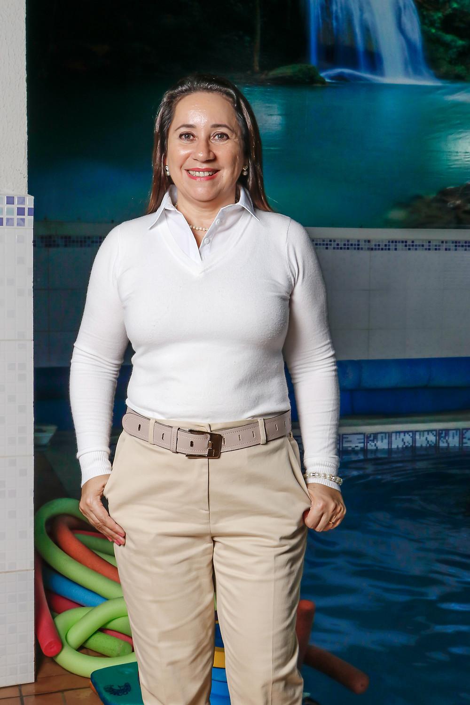 A fisioterapeuta Rosimere administra uma das melhores clínicas de reabilitação de Pernambuco. Crédito: Diêgo Albuquerque Fotografia