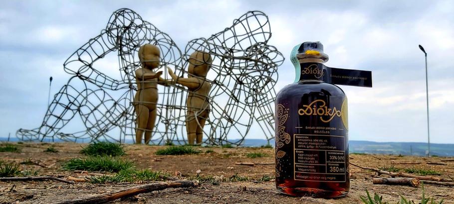 Dióka Szeretet szobor