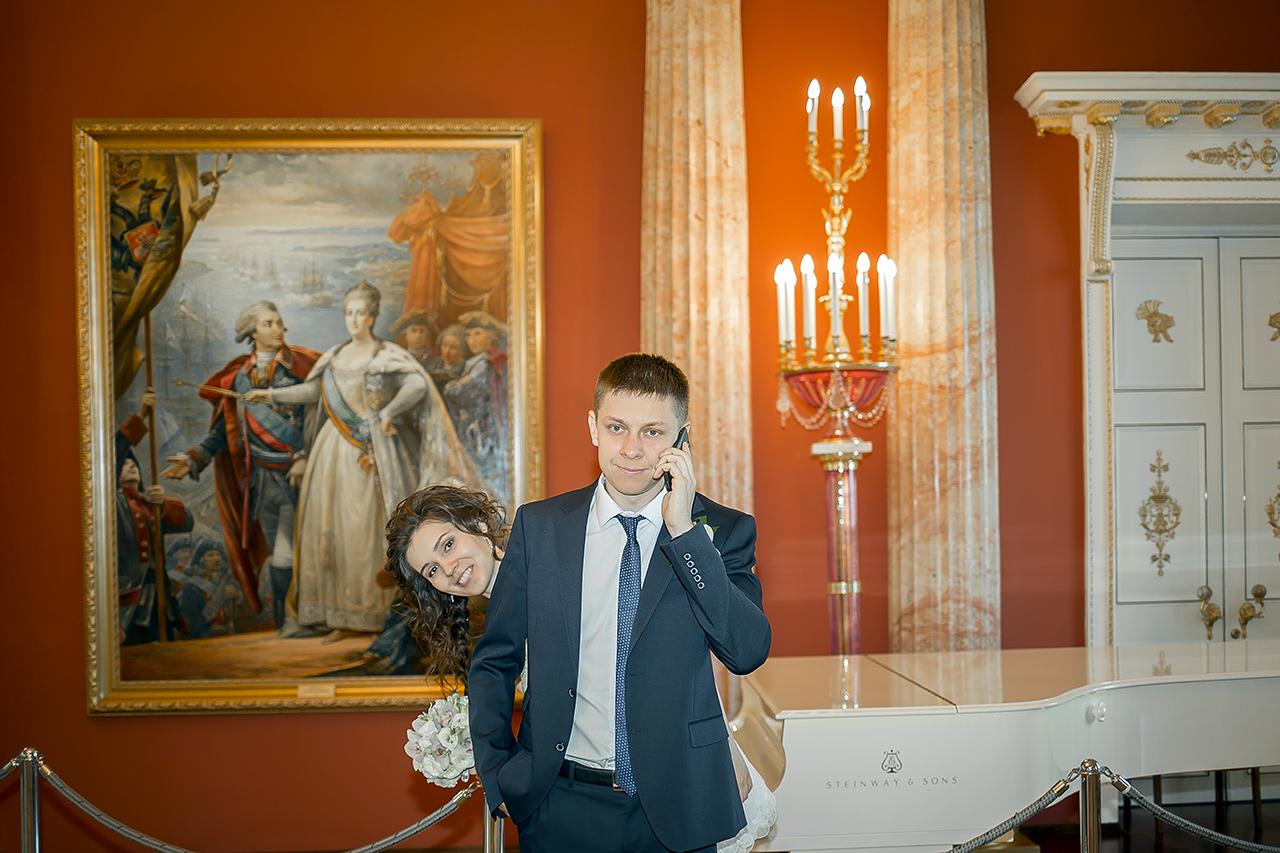 Жених Руслан важные свадебные звонки