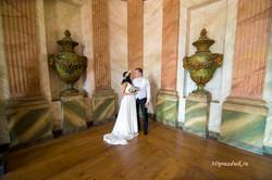 Дворец Кусково свадебная прогулка