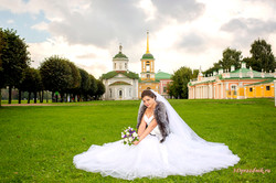 Невеста Ирина. Прогулка Кусково.