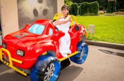 Невеста Людмила за рулем :)