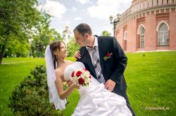 Ольга и Сергей свадебная прогулка.