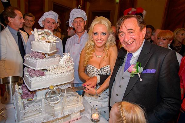 Свадебная съемка торт