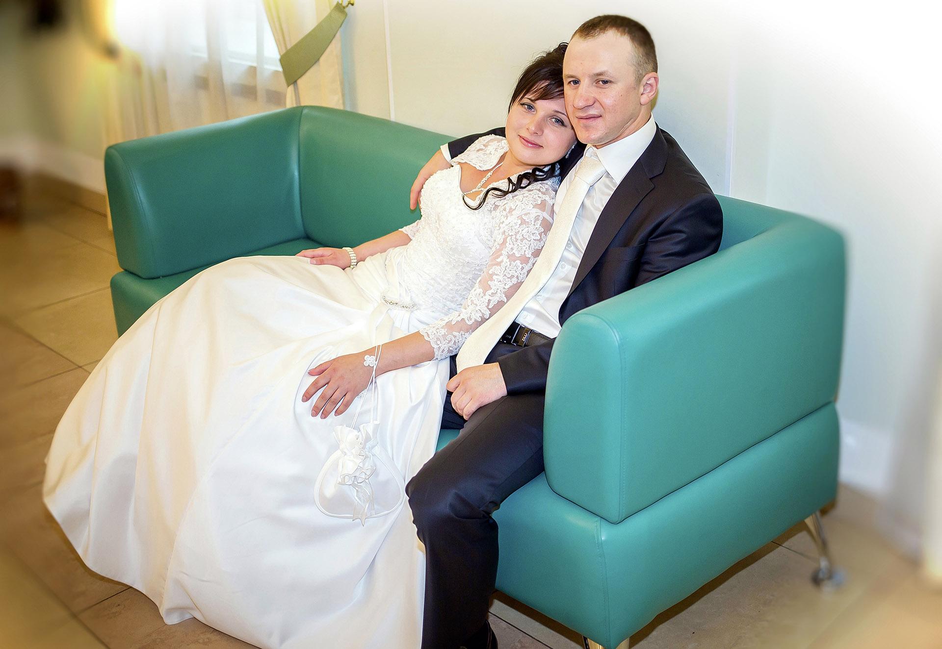Алексей и Людмила. ЗАГС.