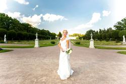 Невеста усадьба Кусково
