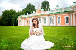 Невеста Екатерина. Парк Кусково.