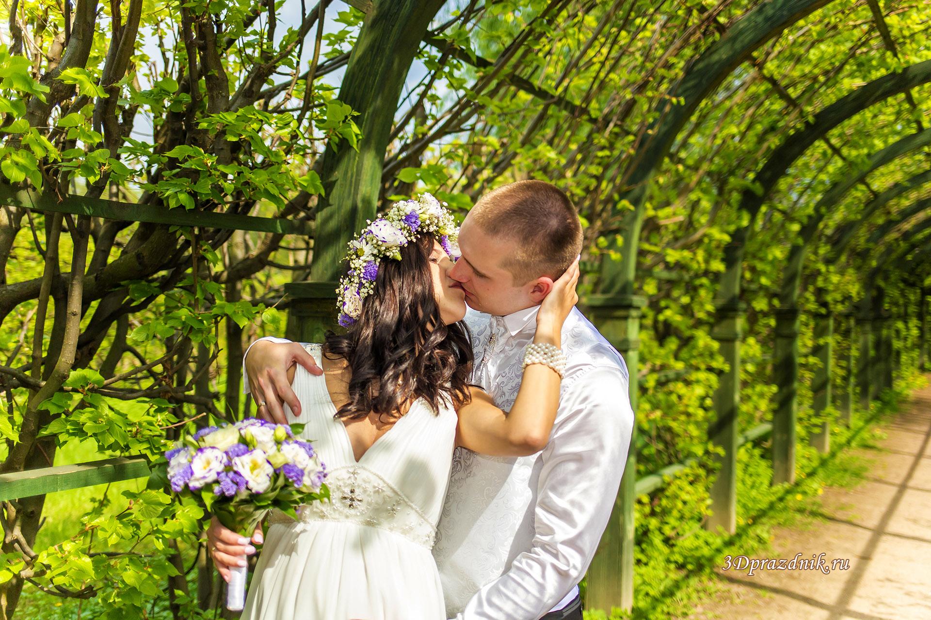 Свадебная арка в парке Кусково