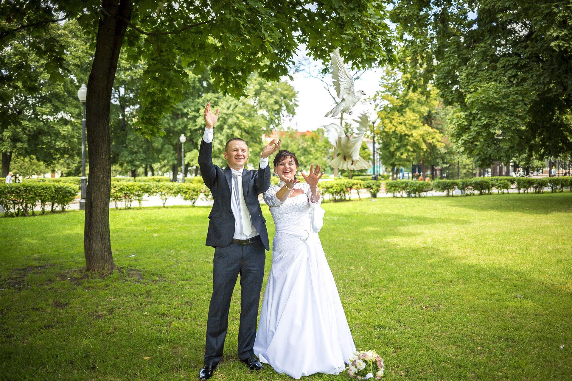 Алексей и Людмила. Белые голуби