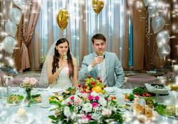 Евгения и Петр. Свадебный банкет.