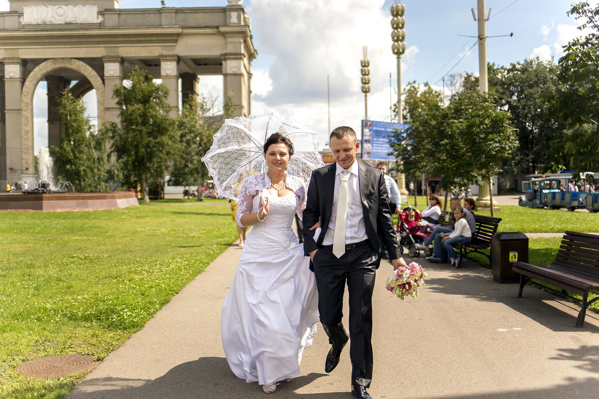 Свадебная прогулка ВДНХ.