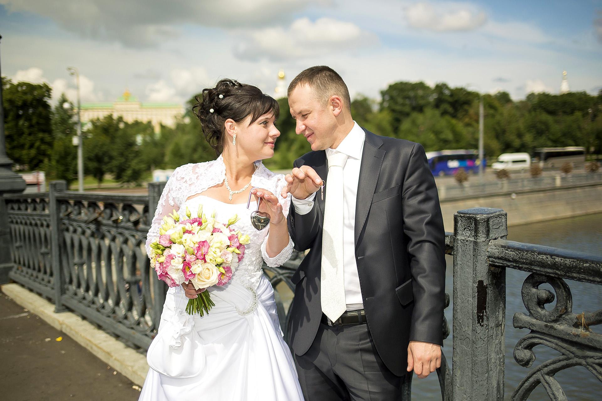 Людмила и Алексей. Мост влюбленных.