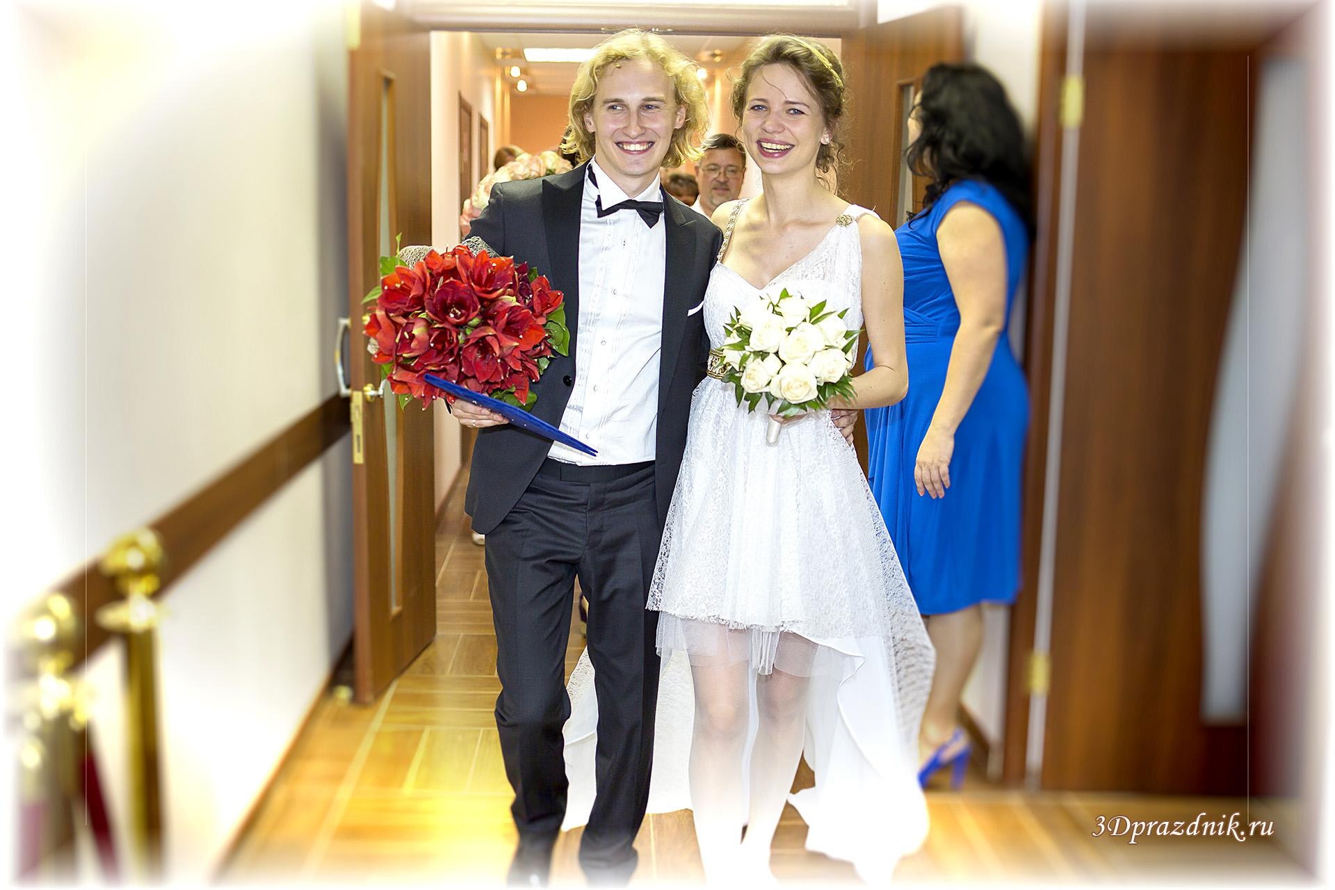 Александр и Виктория. ЗАГС