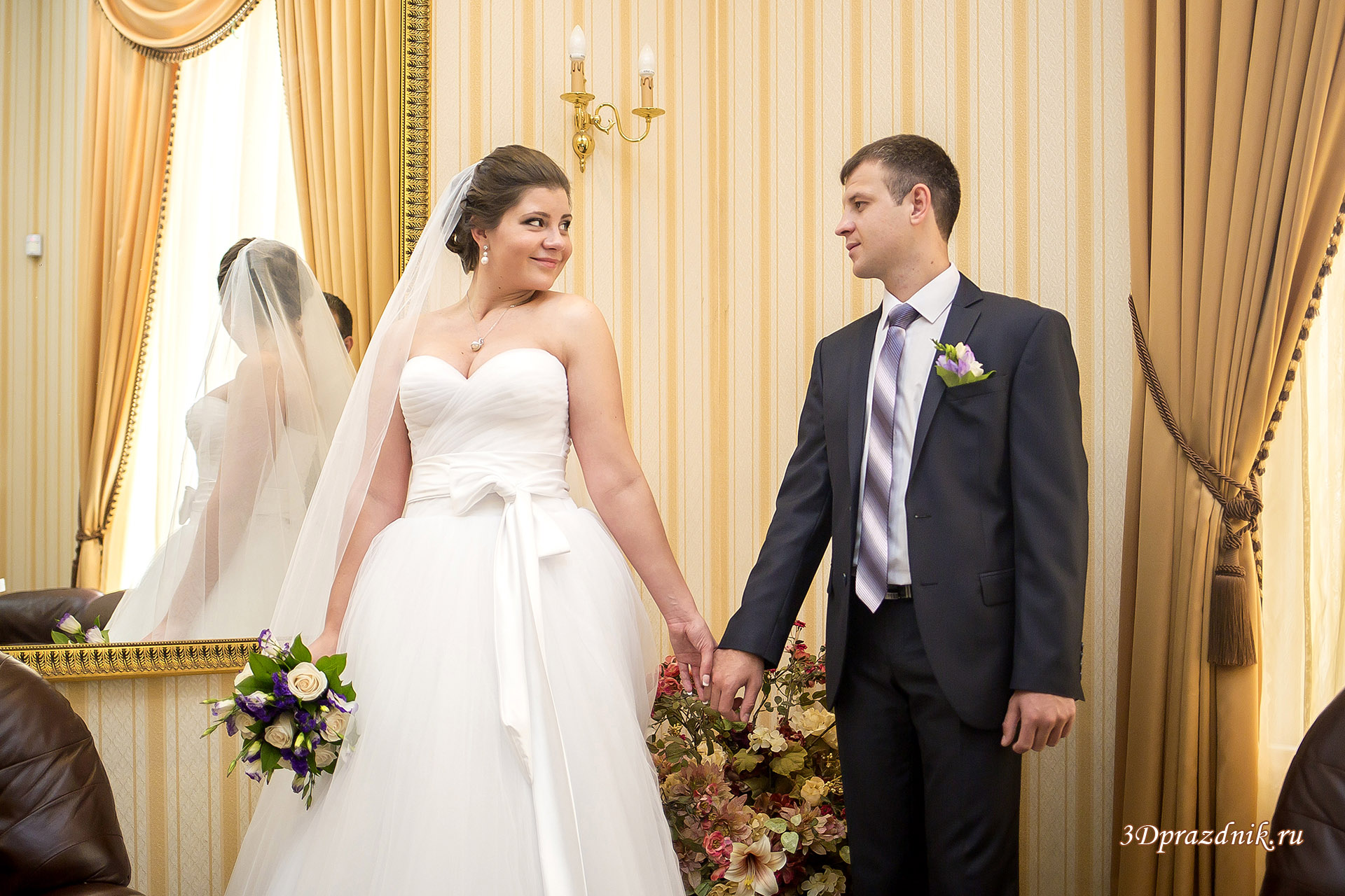 Константин и Ирина. Таганский ЗАГС