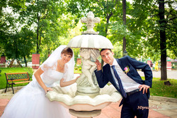 Жених, невеста, Купидон