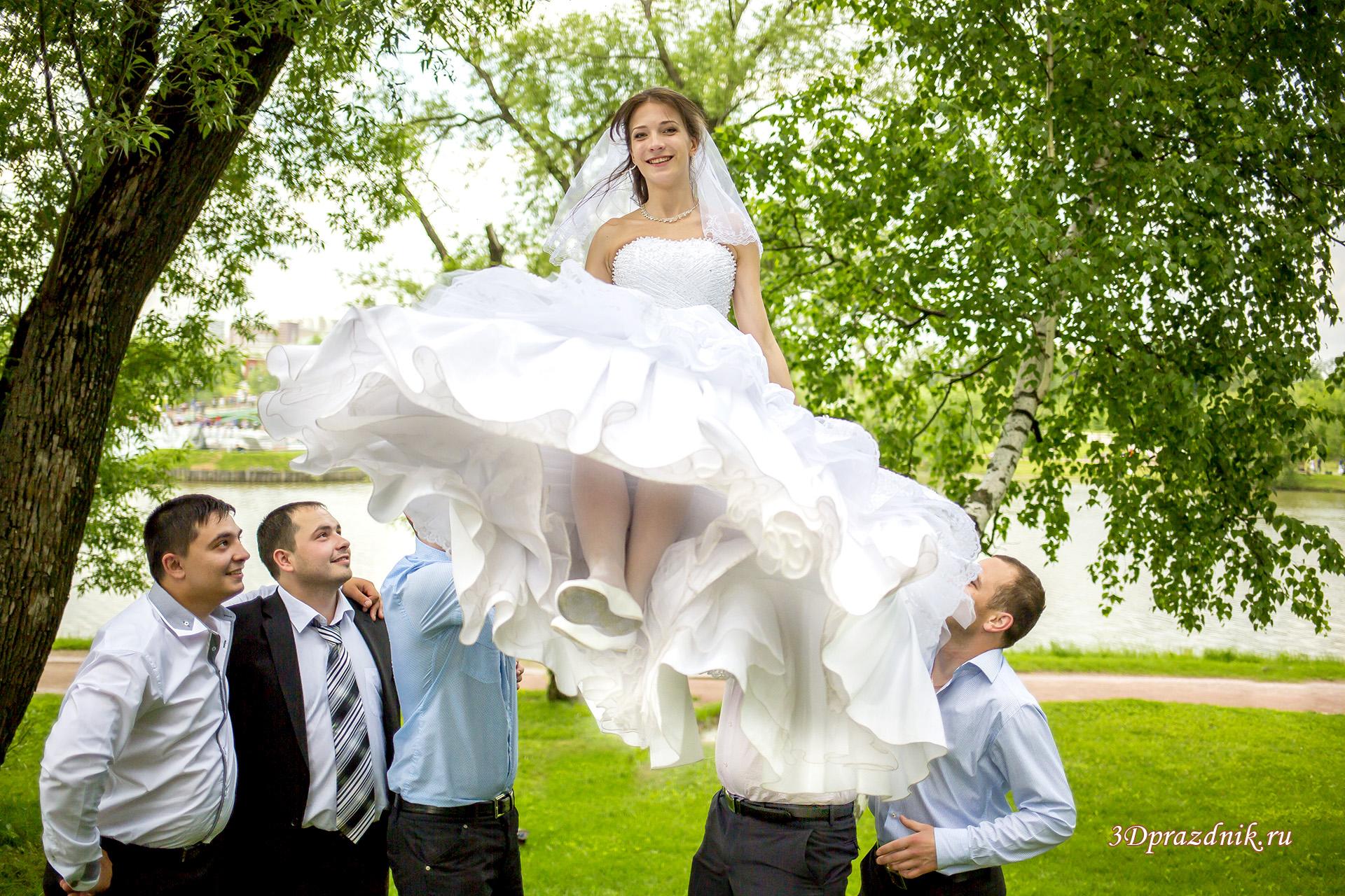 Парящая невеста :)