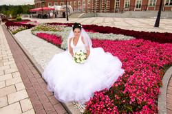Невеста Ирина. Фото в цветах.