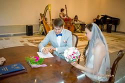 Подпись жениха о заключении брака.