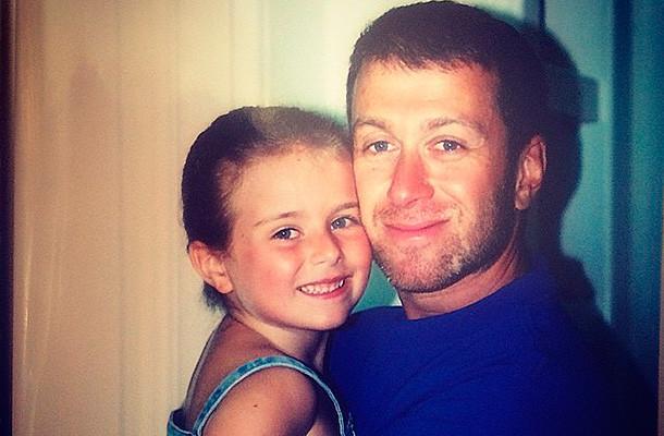 Абрамович с дочерью