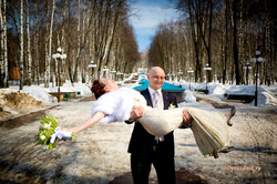 Свадебная прогулка парк г. Дмитров
