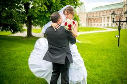 Сергей и Ольга свадебная прогулка