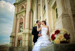 Свадебное фото викторианский стиль