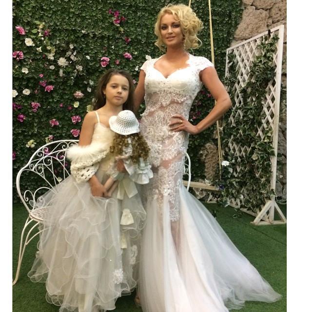 Волочкова в свадебном платье