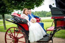 Свадебная карета.