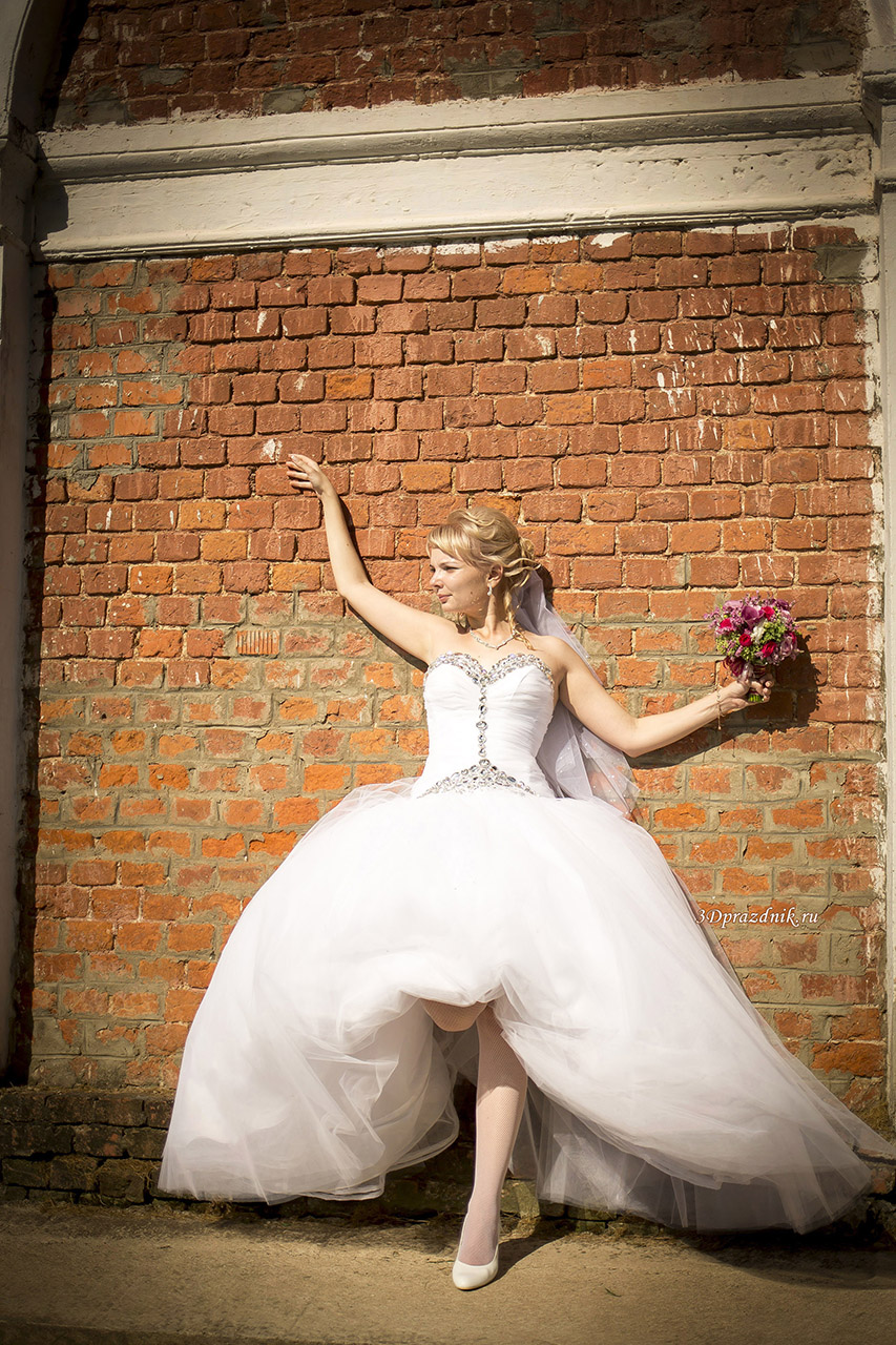 Невеста Елена. Стена монастыря.