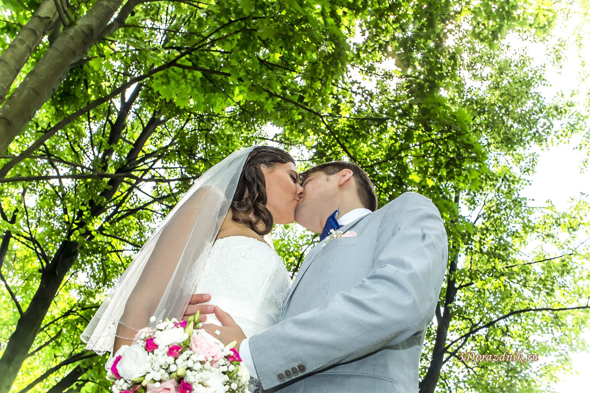 Петр и Евгения. Поцелуй.