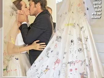 Свадебные фотографии Анджелины Джоли