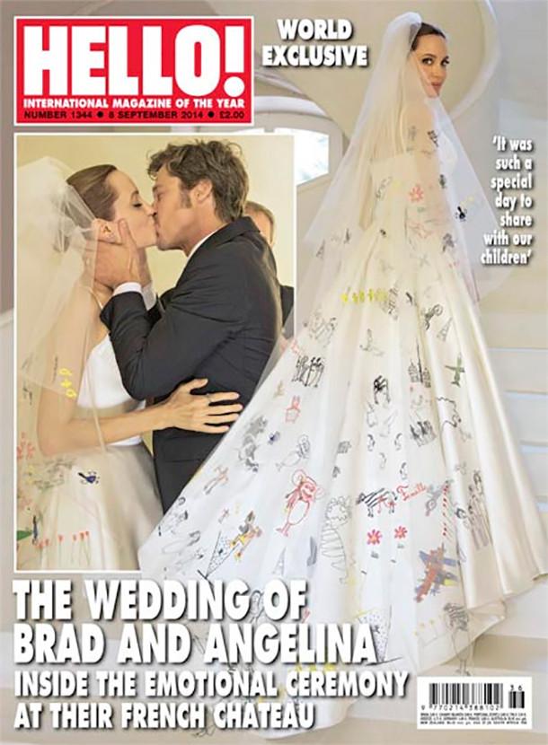 Джоли свадебное фото