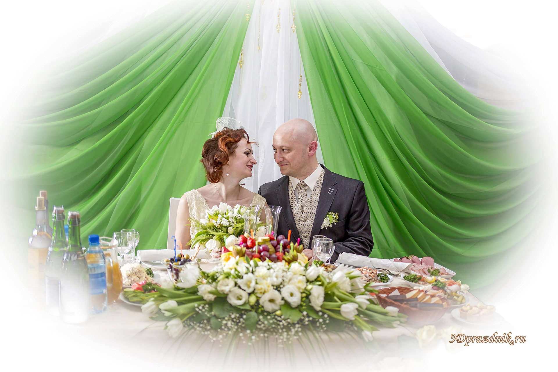 Свадебный банкет. Александр и Анна.