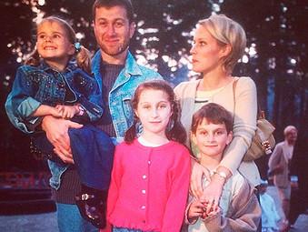 Семейные фотографии Абрамовича