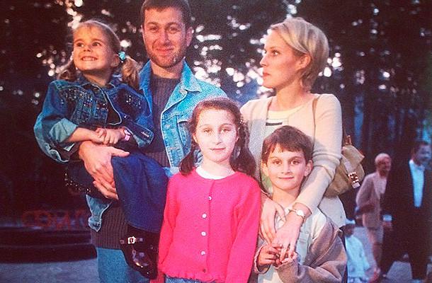Абрамович семейная фотография